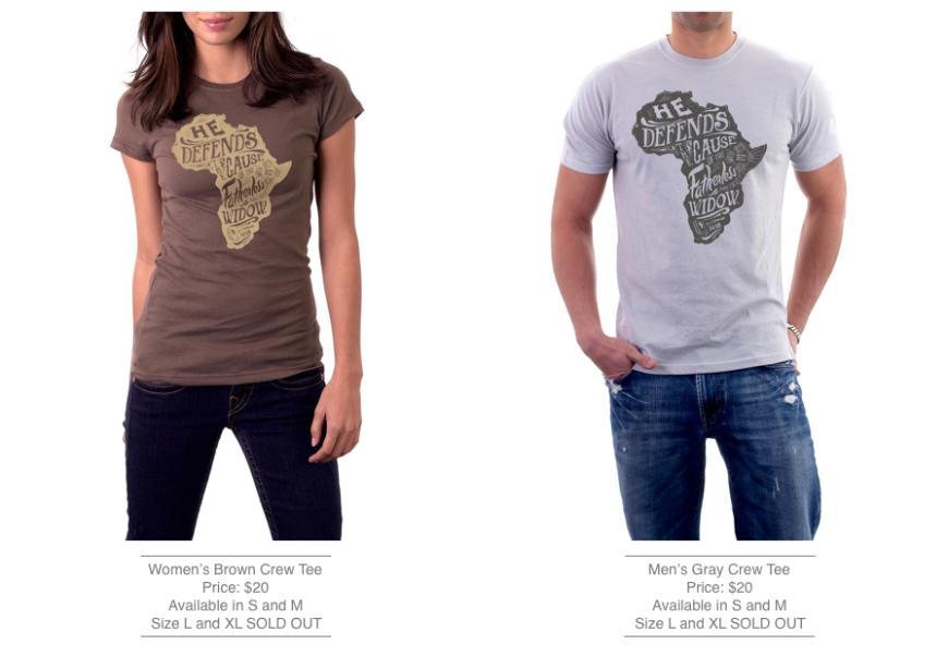 T-Shirt Update